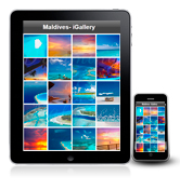 The Maldives Photo gallery now available for iPhones and iPads !