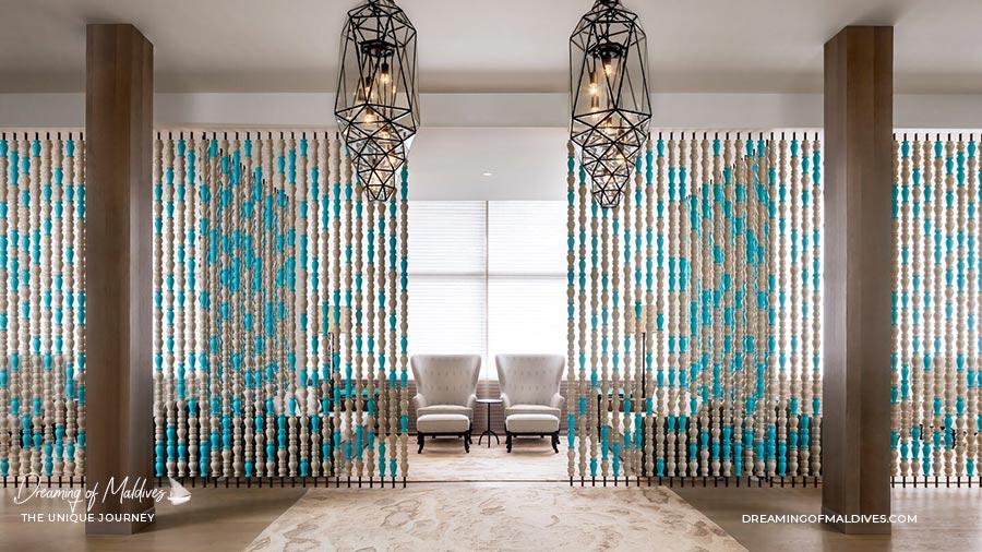 Interior Design The Amazing Iridium Spa at St Regis Vommuli Maldives