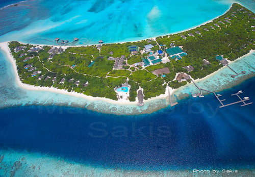 Island Hideaway Maldives Aerial Photo | © Sakis Papadopoulos