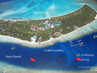 Diving and snorkeling at island hideaway maldives