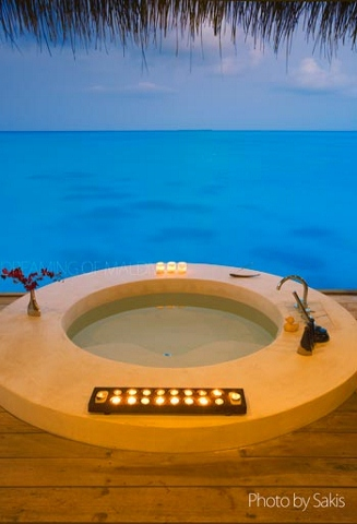 Private Villa with Spa at Island Hideaway Maldives