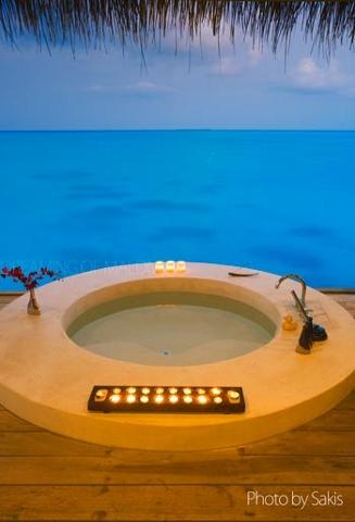 Private Villa with Spa at Island Hideaway Maldives