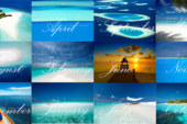 Sales ! Maldives Wall Calendar 2018