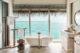 beautiful Bathroom with Ocean view at Joali Maldives