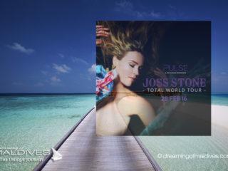 Joss Stone in Concert at Per Aquum Huvafen Fushi Maldives