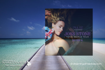 Exclusive Concert of Joss Stone in Maldives at Per Aquum Huvafen Fushi