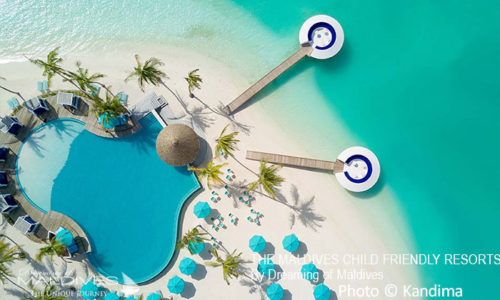 The Kids Club at Kandima Maldives child friendly resort