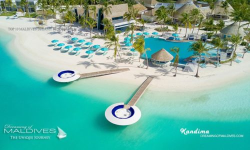 Drone Photo at Kandima Maldives (Top 10 Best Hotels in Maldives in 2018 – Semi Finalists)