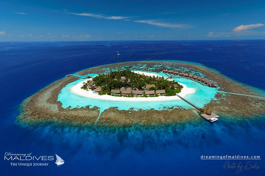 Kandolhu Maldives Resort Aerial Photo
