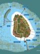 Kandolhu Island Maldives resort map