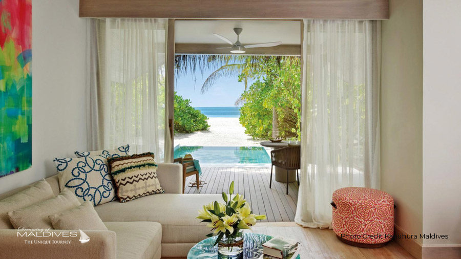 Kanuhura Maldives Beach Pool Villas