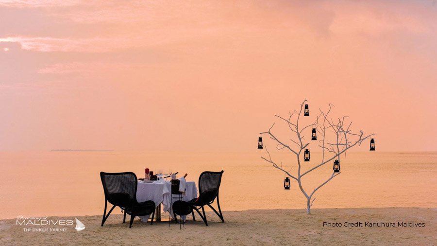 Kanuhura Maldives private Dining