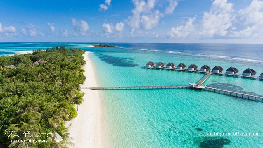 Kanuhura Maldives Resort Aerial Photo