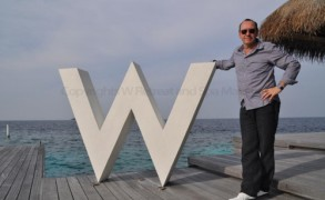 Kevin Spacey at W Retreat and Spa Maldives