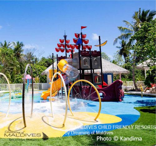 the Kids Club at Kandima Maldives child friendly resort