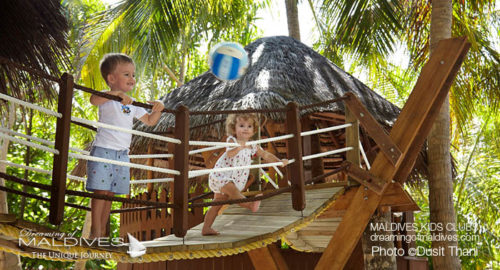 Maldives Family Hotel Dusit Thani Kids Club