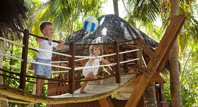 Cool Jungle playground at Dusit Thani Maldives