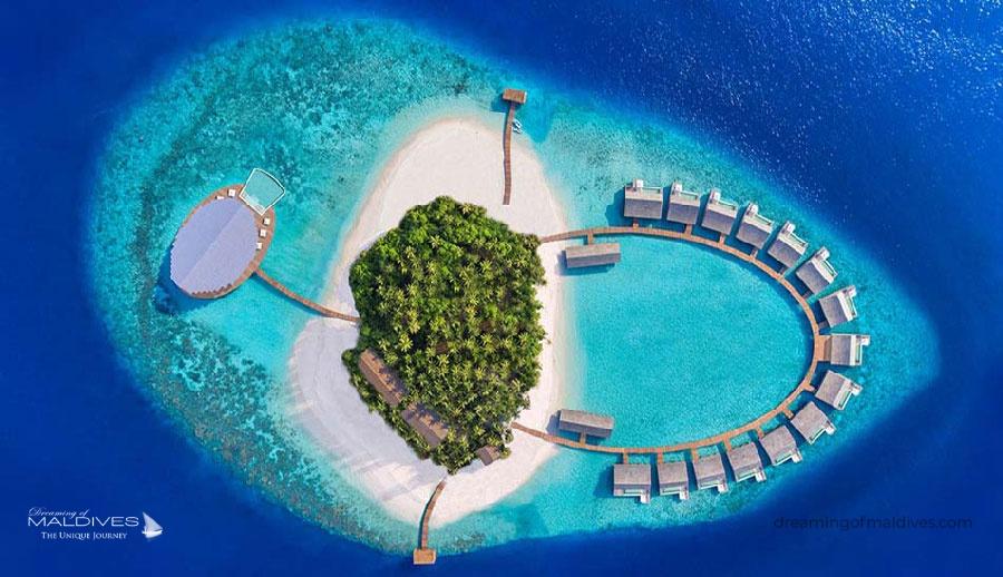 Kudadoo Private Island Miriandhoo Opening Date : Automn 2018