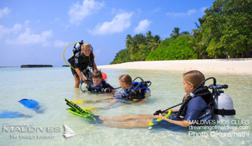 Maldives Family Resort Kuramathi Kids activities