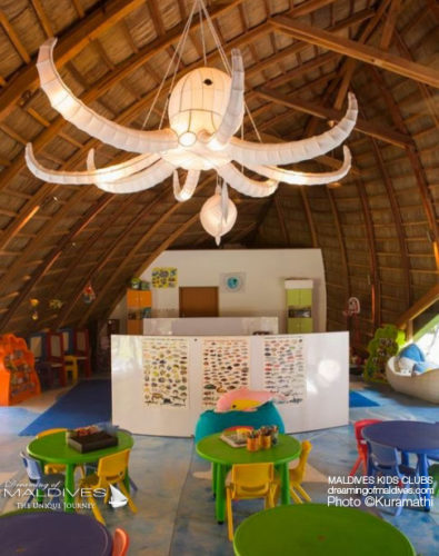 Maldives Family Resort Kuramathi Kids Club