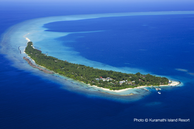 Maldives top 10 Resorts 2013 / Number 5 Ex-Aequo Kuramathi