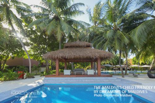 Kids pool kurumba Maldives child friendly resort
