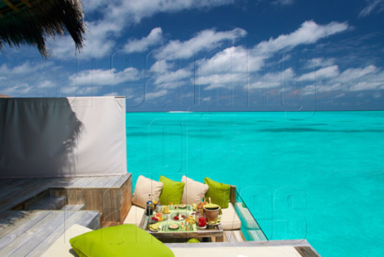 Today's Dreamy Spot : Laamu Water Villa with Lagoon view at Six Senses Laamu