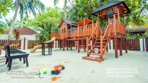 Maldives Family Hotel Lily Beach Kids Club
