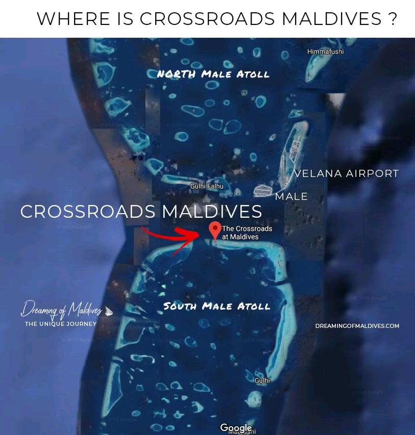 Crossroads Maldives Location
