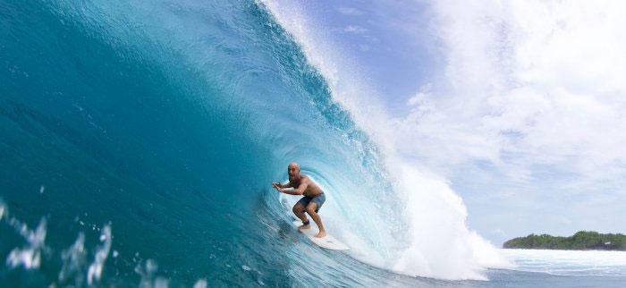 North Atoll Best Surf Spot Lohi. Maldives