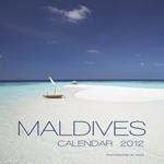 2012 Maldives Islands wall calendar