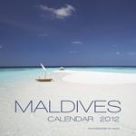 2012 Maldives Islands wall calendar