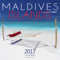 2017 Wall Calendar Maldives Islands