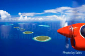 The Maldives, 4th in the finalists of the Vote for the New 7 Wonders of Nature