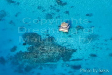 Photo of Maldives | Aerial View of a private deck