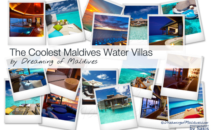 The Best and Coolest Maldives Water Villas we've seen (so far)