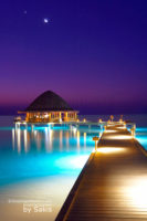 Photo of The Day : Maldives Between Dusk and Dawn