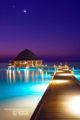 Maldives between Dusk and Dawn