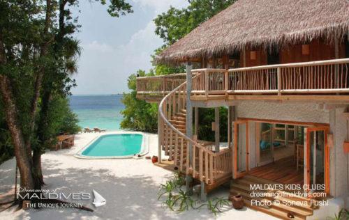 soneva fushi Family Beach Villa