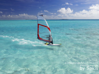 Funboard in Maldives...Pure Paradise for Watersports | Photo © Sakis Papadopoulos