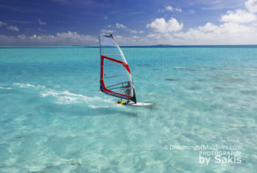 Windsurfing, Funboarding, Kitesurfing in Maldives...all pleasures allowed !