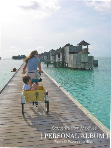 A very cool Bike ride at Gili Lankanfushi Maldives!
