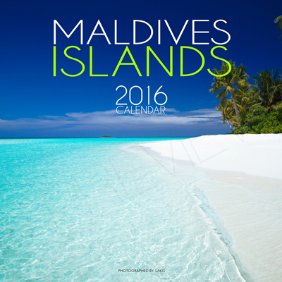 2016 Wall Calendar Islands Maldives