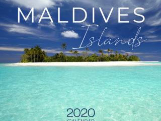 2020 Maldives Wall Calendar Beautiful Islands Calendar