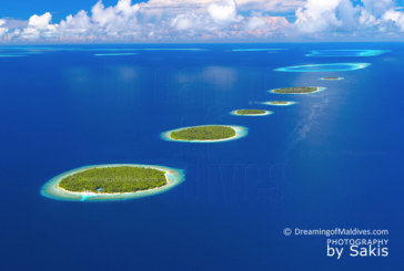 Maldives Islands Aerial Photography. Baa Atoll Island