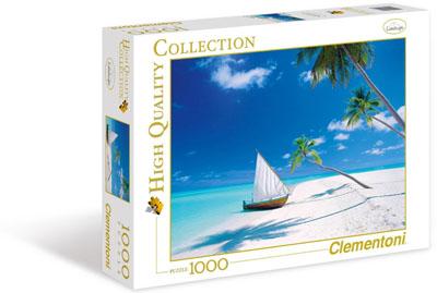 Maldives Beach – 1000 pieces
