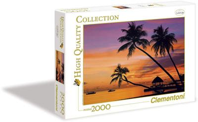 Maldives at Sunset – 2000 pieces