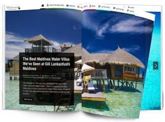 Maldives Magazine Special Best Water Villas of Maldives