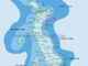 Map 1 from Haa Alifu Atoll to Lhaviyani Atoll