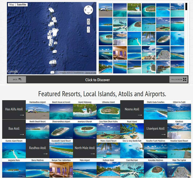 Maldives Map with Resorts Atolls and Airports